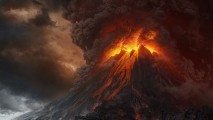 Mount Doom in Lord of the Rings
