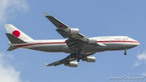 Japan Airforce #1 Boeing 747-400