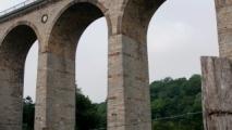 13 - Kalkstenen spoorbrug in Altenbeken