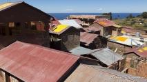 Uitzicht over Taquile