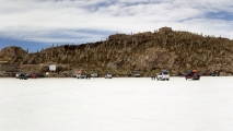 Zoutvlakte van Uyuni