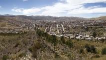 Panorama uitzicht Potosí