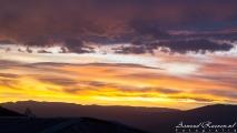 Zonsondergang in Potosí
