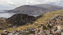 Panorama uitzicht over Puno