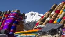 Uitzicht onderweg naar Cusco