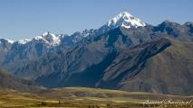 Uitzicht onderweg van Cusco naar Ollatayambo