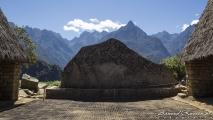 Steen in de vorm van een berg