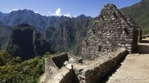 Huizen in Machu Picchu