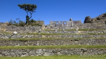 Terrassen van Machu Picchu