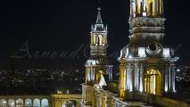 Arequipa bij nacht