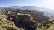 Mooi uitzicht over de Colca Canyon
