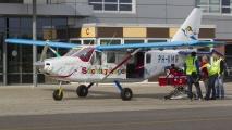 Vliegen terwijl je op een brandcard ligt? 't kan bij Stichting Hoogvliegers in de PH-KMR!