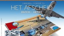 KLM Fokker 70 Afscheidsboek #2 (2018)