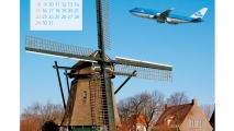 KLM Calendar 2013