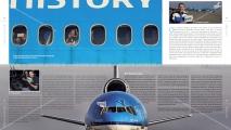Interview met mij in het 2e KLM MD-11 Afscheidsboek (2015)