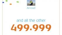 I am KLM's 500.000 Facebook Fan (2011)