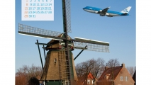 KLM Calendar Announcement on Facebook (2012)