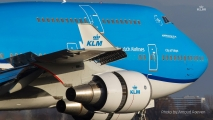 KLM Boeing 747 in new livery (2015)