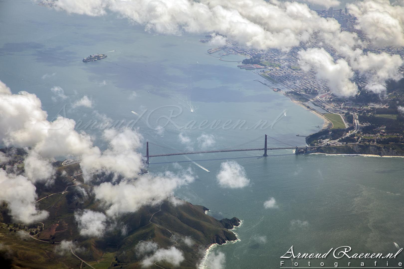 Golden Gate Brigde & Alcatraz