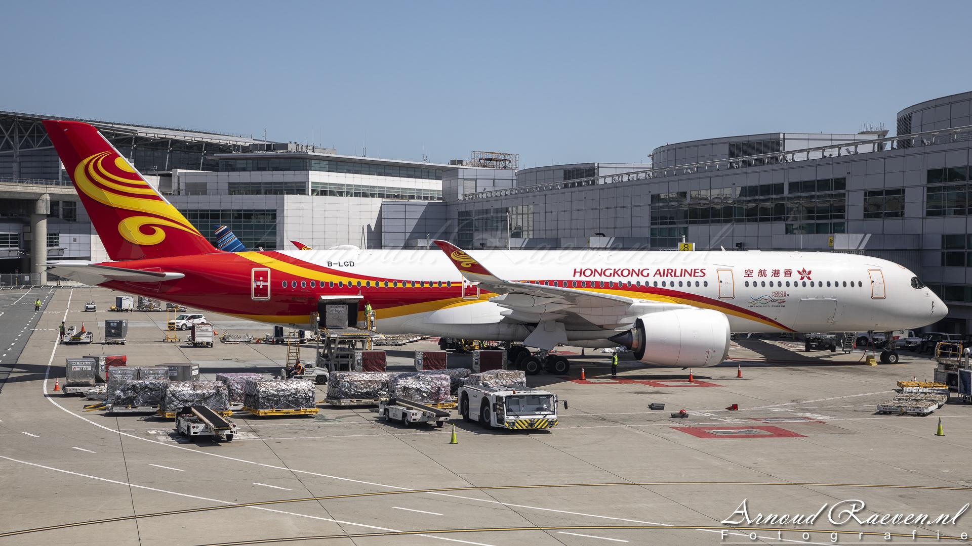 Hongkong Airlines Airbus A350 (B-LGD)
