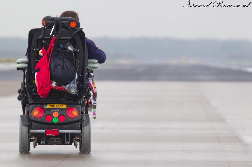 Wheelchair runwayrun!