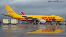 DHL A310 op Schiphol