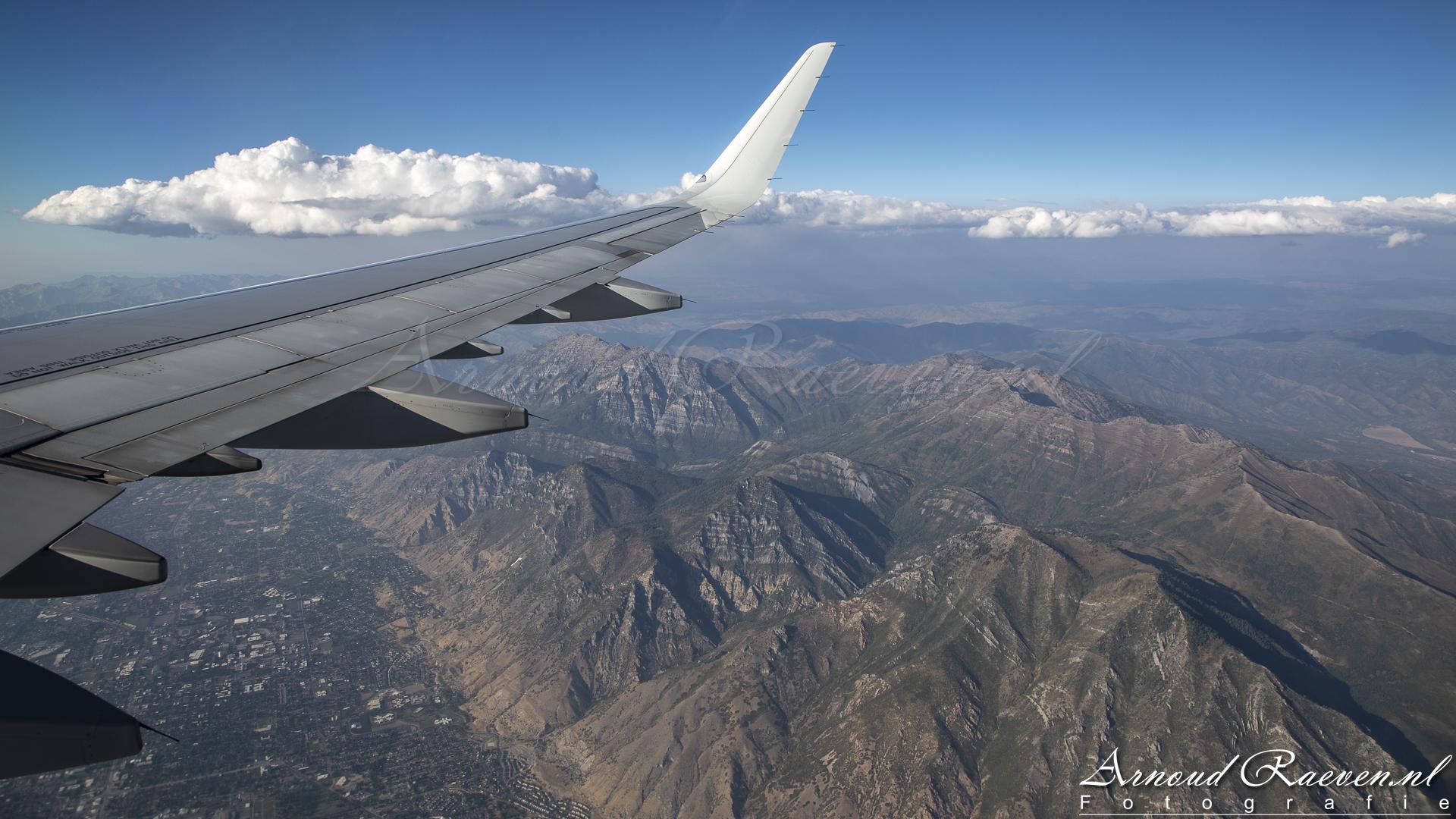 Uitzicht op Provo Peak