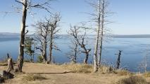 Lake Butte Overlook - Yellowstone Lake