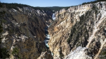 Grand Canyon of the Yellowstone - Artist Point